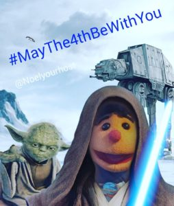 Happy #StarWarsDay from all of us at THE SHOW ME SHOW!